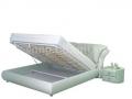 Двуспальная кожаная кровать 995