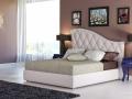 Двуспальная кожаная кровать Luvr 1