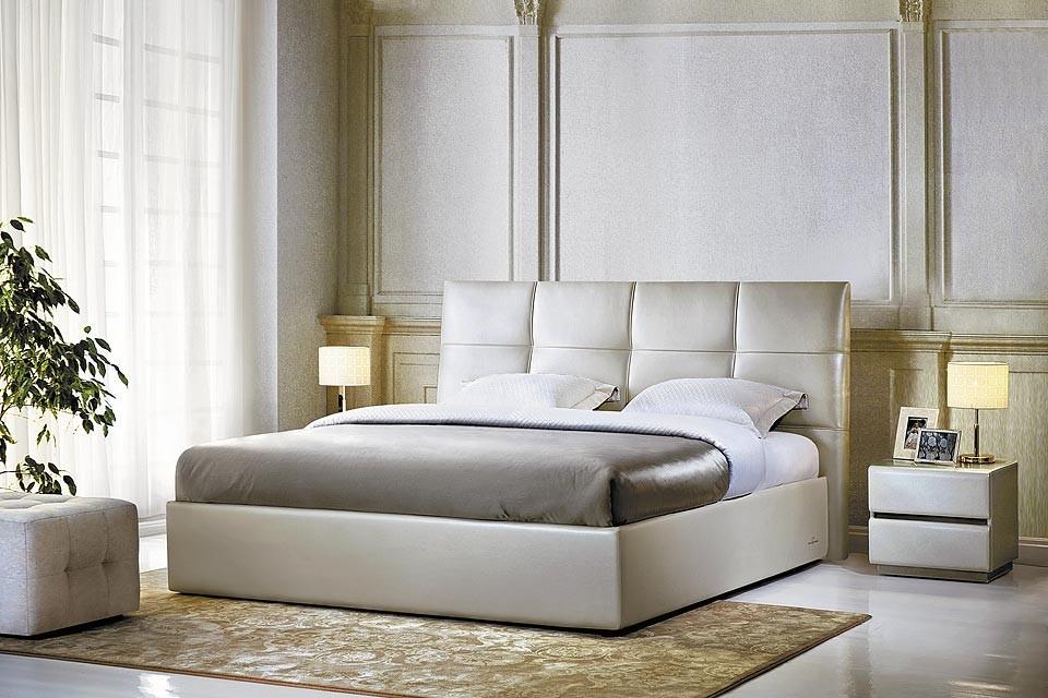 Двуспальная кожаная кровать Murena 1