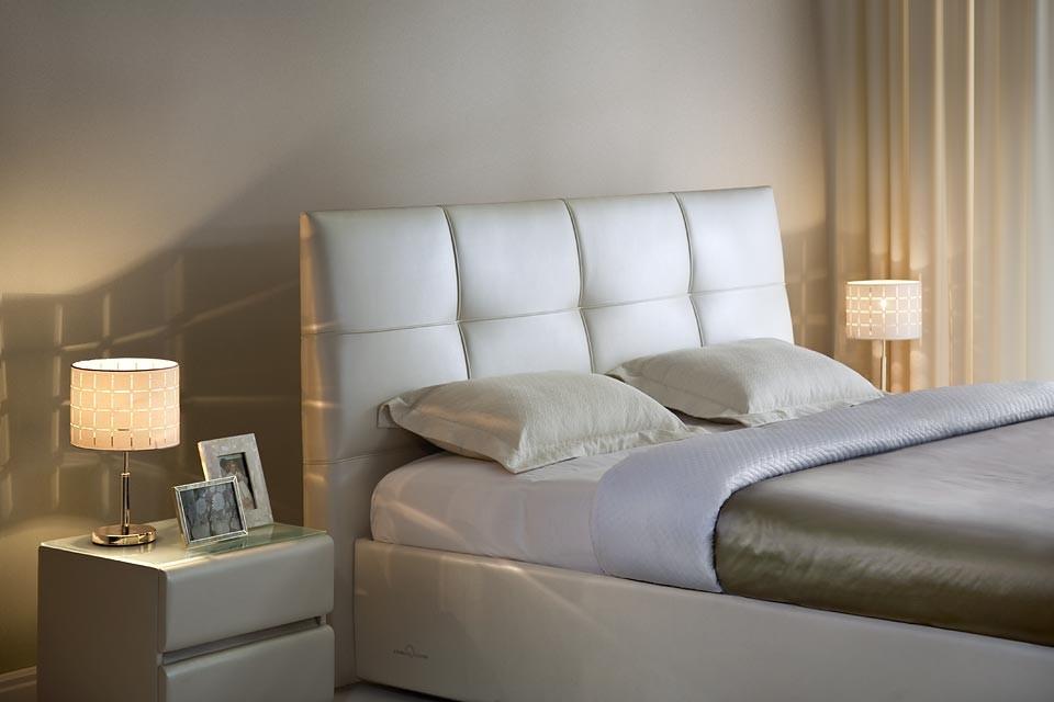 Двуспальная кожаная кровать Murena 2