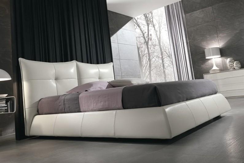 Двуспальная кожаная кровать Сан Ремо (San Remo) 10 1