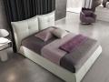 Двуспальная кожаная кровать Сан Ремо (San Remo) 10 2