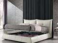 Двуспальная кожаная кровать Сан Ремо (San Remo) 10 3