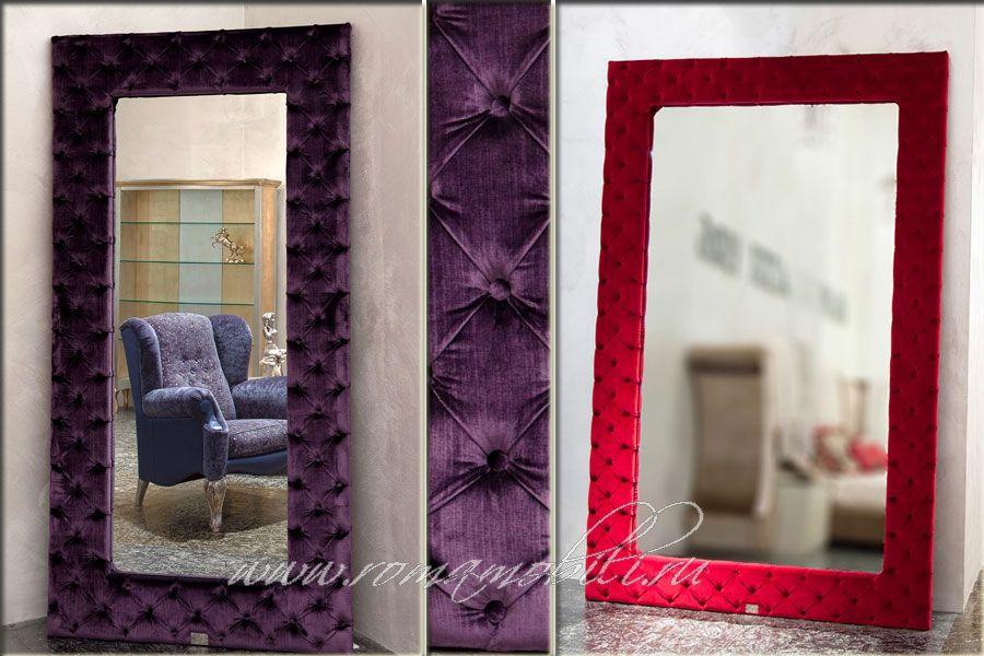Рама из ткани для зеркала  из